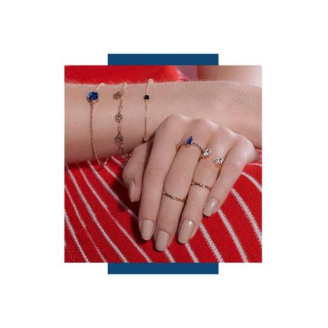 mix pulseiras aneis colecao woman power ana hickmann marca rommanel loja brilho folheados