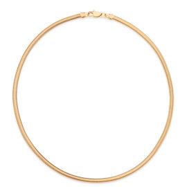 531935 gargantilha formada por fio rabo de rato achatado joia folheada rommanel marca brilho folheados