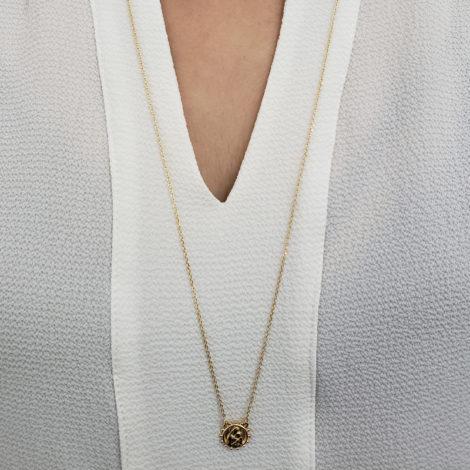 1900424 escapulario sagrado coracao de jesus e nossa senhora do carmo medalha com bolinhas ao redor joia folheada a ouro brilho folheaodos sabrina joias foto modelo 1