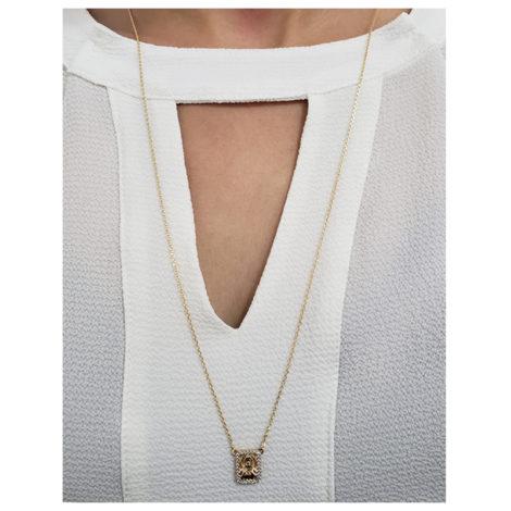 1900425 escapulario feminino sagrado coracao de jesus e nossa senhora do carmo medalha cravejada joia folheada a ouro brilho folheaodos sabrina joias foto modelo 1