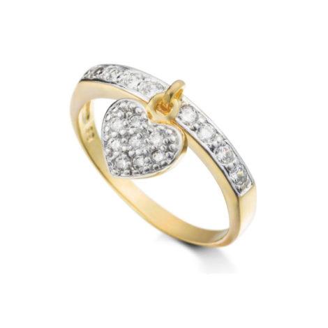 1956700 anel delicado pingente coracao cravejado com zirconias marca sabrina joias loja revendedora brilho folheados 1