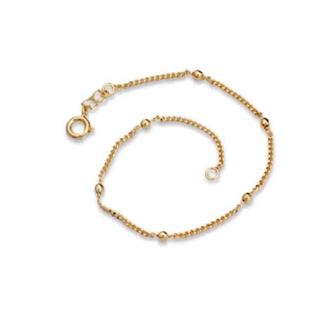 550195 pulseira grumet com bolinhas macicas 18cm feminina marca rommanel lojr brilho folheados
