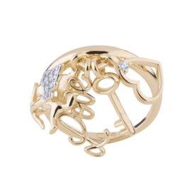 1911025 anel com pingentes amor sem fim cupido chave coracao love joia antialergica sabrina loja brilho folheados