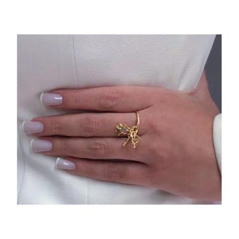 1911025 anel com pingentes amor sem fim cupido chave coracao love joia antialergica sabrina loja brilho folheados modelo