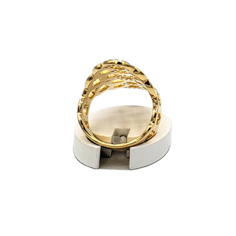 AB1591 maxi anel bolhas com zirconia folheado a ouro 18k marca bruna semijoias loja brilho folheados 2