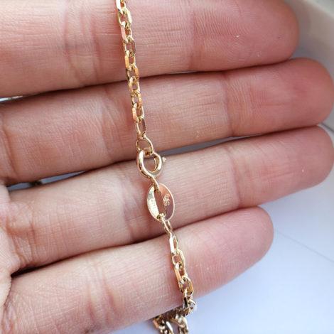 150A70 corrente masculina cartier folheada a ouro 18k marca sabrina joias loja revendedora brilho folheados 2