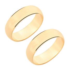 510892 par de alianca de casamento grossa lisa marca rommanel loja revendedora brilho folheados