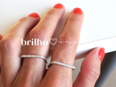 R1910366 anel quadrado prateado marca sabrina joias loja revendedora brilho folheados foto modelo ML 5