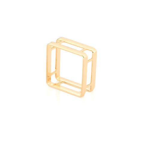 512822 anel quadrado aro duplo joia rommanel simone e simaria loja revendedora brilho folheados