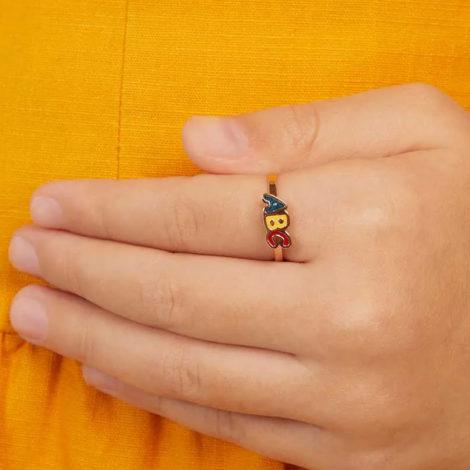 512803 anel infantil letras ABC com resina colorida marca rommanel loja revendedora brilho folheados 1