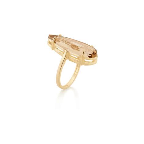 512831 maxi anel cristal gota bege colecao curacao blue ana hickmann marca rommanel loja revendedora brilho folheados 1