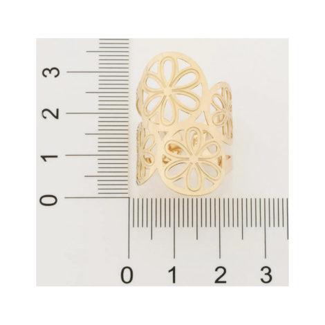 512840 anel ajustavel formado com detalhes da fruta laranja colecao curacao ana hickmann marca rommanel loja revendedora brilho folheados 3