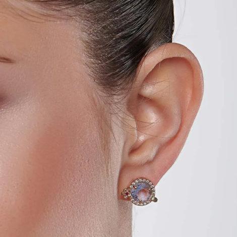 526432 brinco drink curacao cristal azul claro e zirconias joia rommanel loja revendedora brilho folheados 7