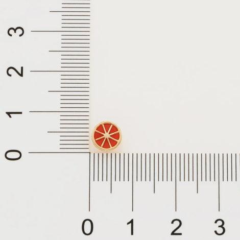 526437 brinco laranja aplicacao em resina colecao curacao blue marca rommanel loja revendedora brilho folheados 7