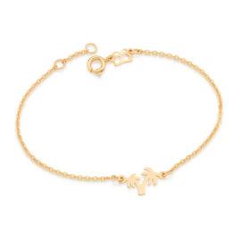 551659 pulseira coqueiros banhado a ouro colecao curacao blue marca rommanel loja revendedora brilho folheados 5