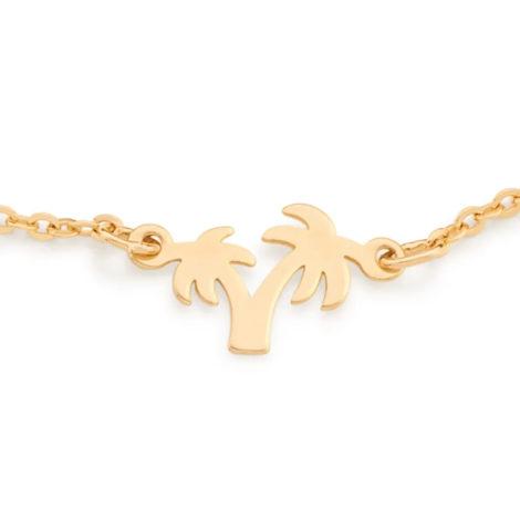551659 pulseira coqueiros banhado a ouro colecao curacao blue marca rommanel loja revendedora brilho folheados 6