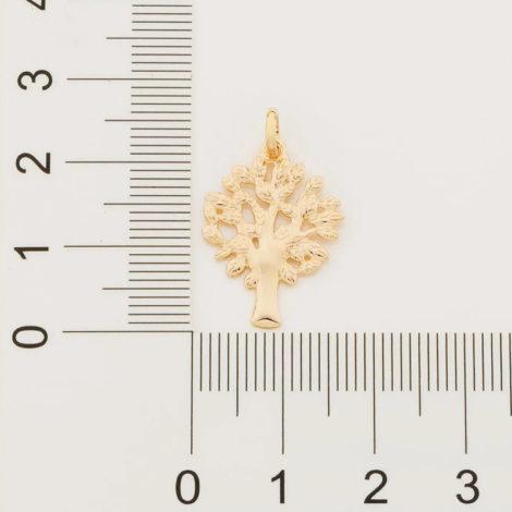 542247 pingente arvore da vida dourado marca rommanel loja revendedora brilho folheados 6