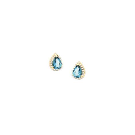1690255 brinco delicado gota de zirconia azul london com zirconias brancas brilhantes ao redor sabrina joias loja revendedora brilho folheados 2