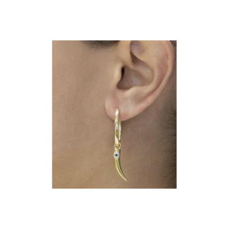 1690403 brinco argola oval pingente pimenta com olho grego cravejado joia folheada ouro sabrina loja brilho folheados 3