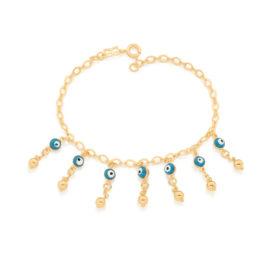 551648 pulseira elos losango batido composta por 7 olhos gregos colecao luz marca rommanel loja revendedora brilho folheados 1