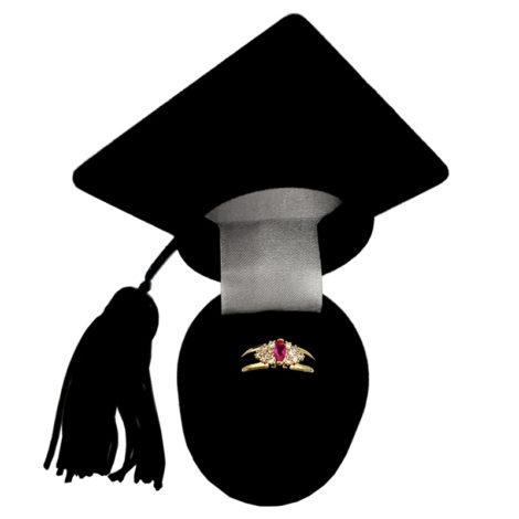 AB1340 anel de formatura pedra cristal navete rosa com zirconias brancas ao redor marca bruna semijoias loja brilho folheados 1