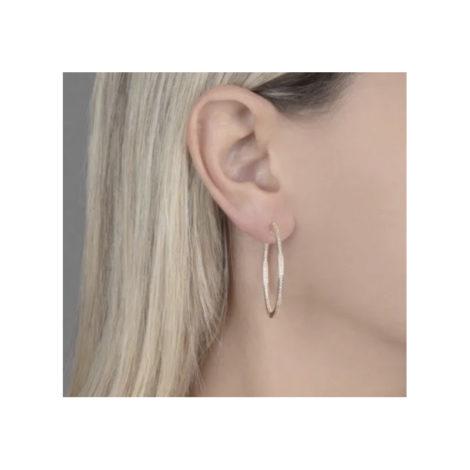 1689269 brinco argola media dupla cravacao marca sabrina joias loja revendedora brilho folheados foto modelo 1