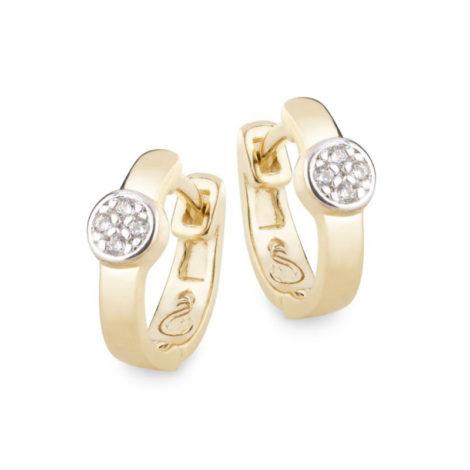 1690023 brinco argola pequena com circulo cravejado marca sabrina joias loja revendedora brilho folheados 1