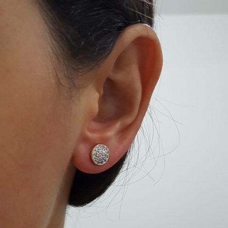 1690285 brinco redondo todo cravejado com zirconias brancas marca sabrina joias loja revendedora brilho folheados 1