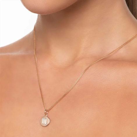 542198 pingente redondo pequeno com simbolo escorpiao marca rommanel loja revendedora brilho folheados 4