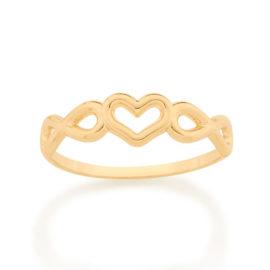 512865 anel skinny ring amor eterno formado por 2 infinitos e 1 coracao vazado ao centro marca rommanel loja brilho folheados