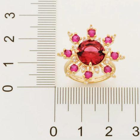 512880 maxi anel zirconias rosa e vermelha marca rommanel loja revendedora oficial brilho folheados 2