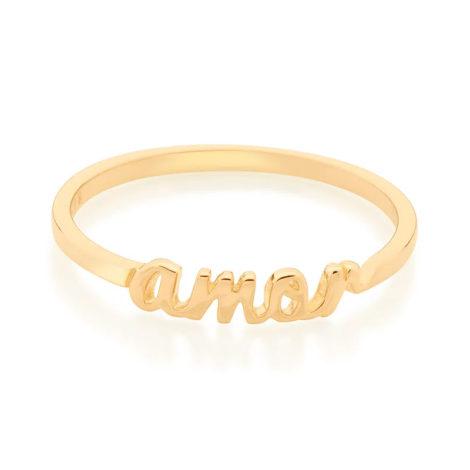 512887 anel skinnyring escrito amor marca rommanel loja revendedora brilho folheados 4