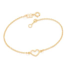 551674 pulseira elos delicado pingente coracao pequeno marca rommanel loja revendedora brilho folheados