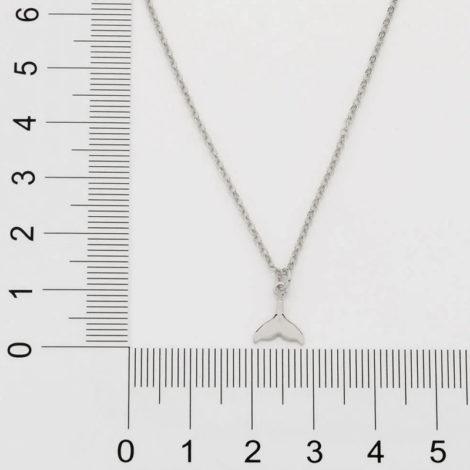 130470 gargantilha ajustavel composta por pingente cauda de sereia marca rommanel loja revendedora brilho folheados 2