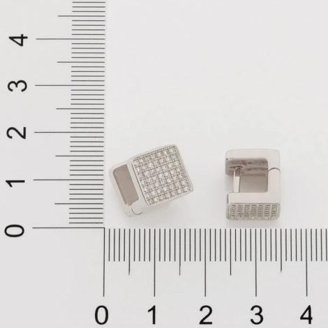 121790 brinco argola quadrada com zirconias prateado colecao cores da vida marca rommanel loja revendedora brilho folheados 4