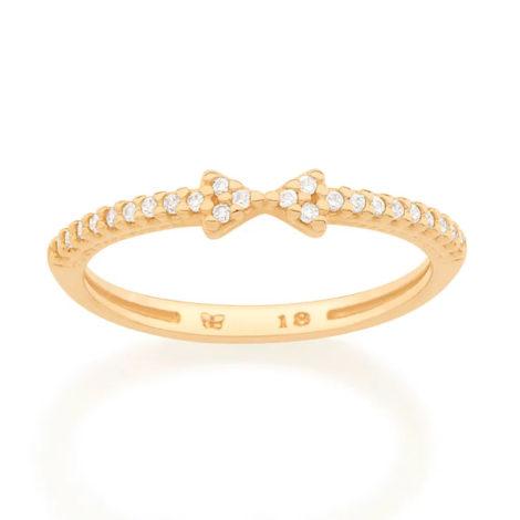 512860 anel skinny ring com laco e micro zirconias colecao cores da vida marca rommanel loja revendedora brilho folheados