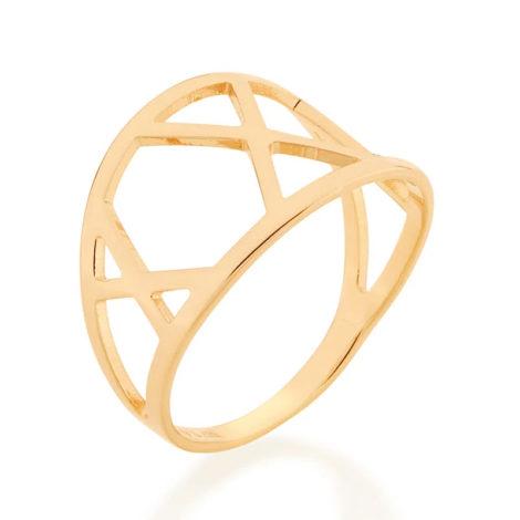 512861 anel detalhes geometricos vazados colecao cores da vida marca rommanel loja revendedora brilho folheados 2