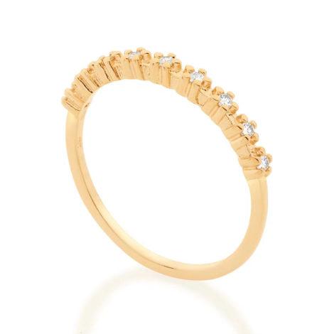 512870 anel meia alianca com flores de zirconias colecao cores da vida marca rommanel loja revendedora brilho folheados 2