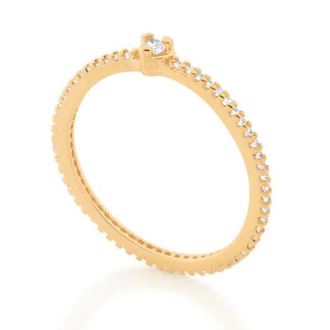 512895 anel solitario coracao com zirconias colecao cores da vida marca rommanel loja revendedora brilho folheados 2