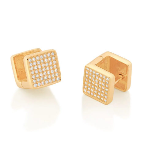 526505 brinco argola quadrada com zirconias colecao cores da vida marca rommanel loja revendedora brilho folheados 2