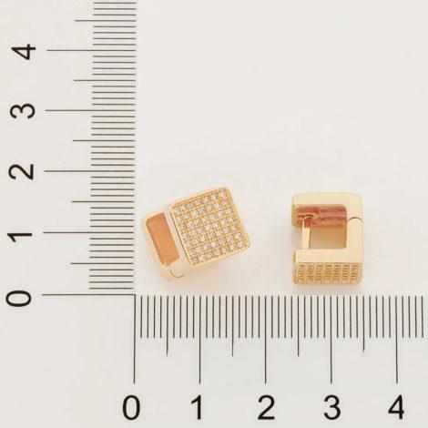 526505 brinco argola quadrada com zirconias colecao cores da vida marca rommanel loja revendedora brilho folheados 4