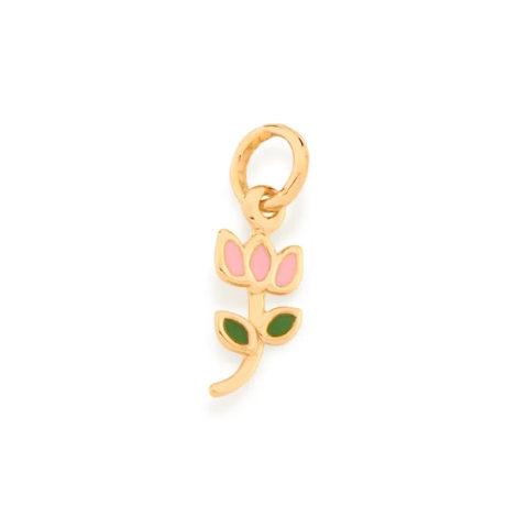 542261 pingente infantil tulipa colecao cores da vida rommanel loja brilho folheados 1