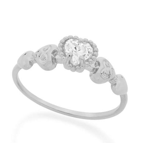110727 anel formado por coracoes trabalhados e coracao zom zirconia colecao dia dos namorados marca rommanel loja revendedora brilho folheados 1