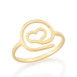 512441 anel formato arroba com coracao vazado colecao dia dos namorados marca rommanel loja revendedora brilho folheados 1