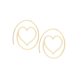525837 brinco gancho formato arroba com coração colecao dia dos namorados marca rommanel loja revendedora brilho folheados 1